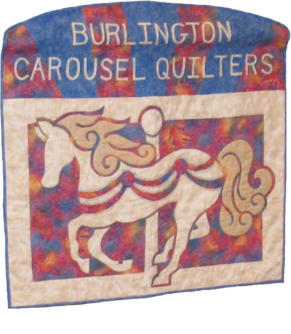 Burlington Carousel Quilters banner