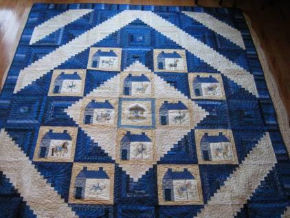 Burlington Carousel raffle quilt