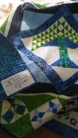 Quilt and label