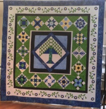 Tree of Life raffle quilt