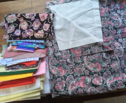 Donated fabric