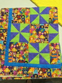 Erma's charity quilt