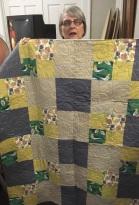 Lisa's lap quilt