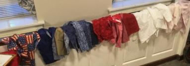 red-white-blue fabrics