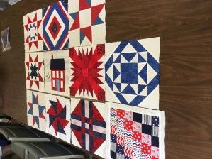 patriotic blocks