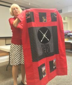 Ilona's charity quilt