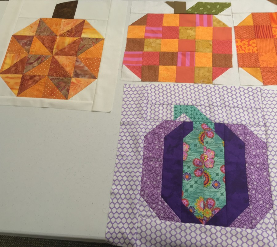 Pumpkin blocks