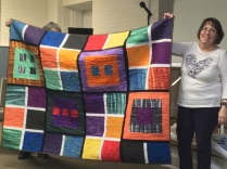 Colorful $5 club quilt