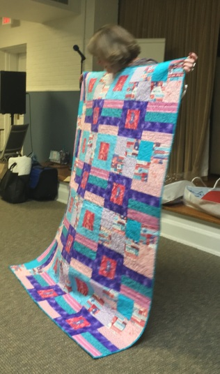Debbie's Care Bear quilt
