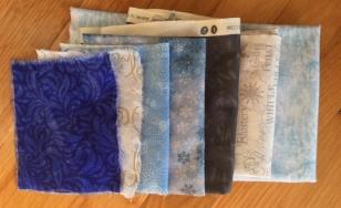 icy colored fabrics