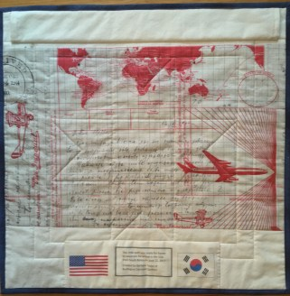 Adoptee quilt back