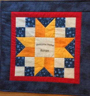 Adoptee quilt front