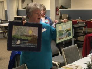 Teresa's landscape quilts