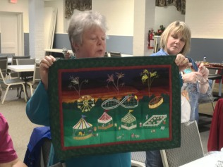 Teresa's NC state fair quilt