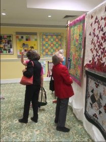 Quilts at quilt show