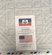 Adoption quilt label