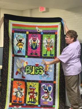 Sheila's bug quilt