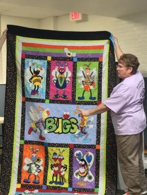 Sheila's bug quilt