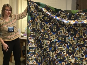 Amy's quilt top