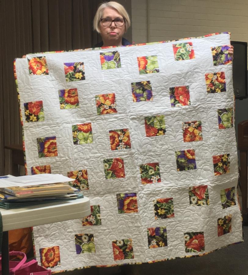 Floating Squares quilt