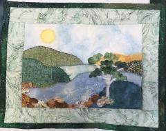 River bend quilt
