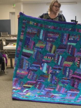 Amy's blue quilt