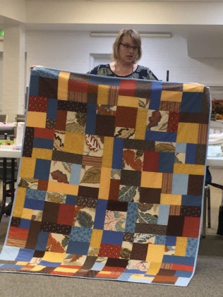 Amy's brown quilt