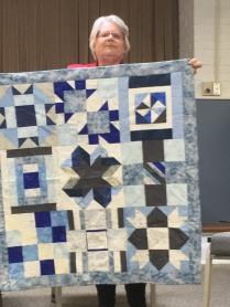 icy blocks quilt