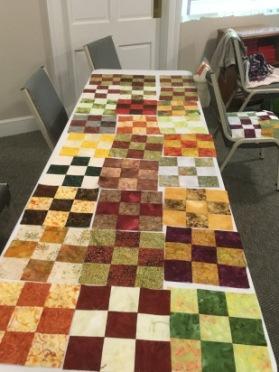 9-patch batik blocks