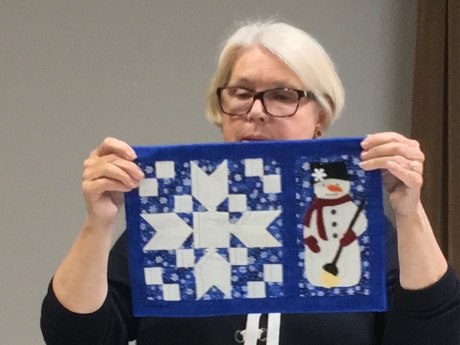 Snow patchwork & Applique