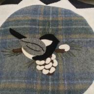 Closeup of stitching
