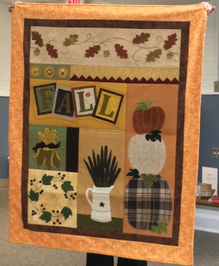 Fall wall hanging