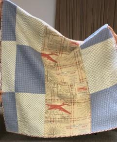 Back of Lisa's quilt