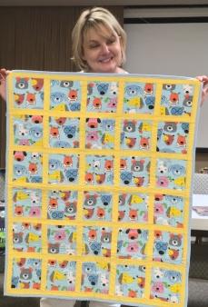 Debbie's quilt for her dog