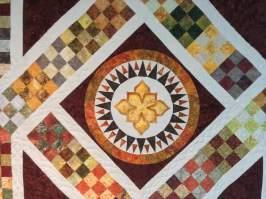 Center of quilt