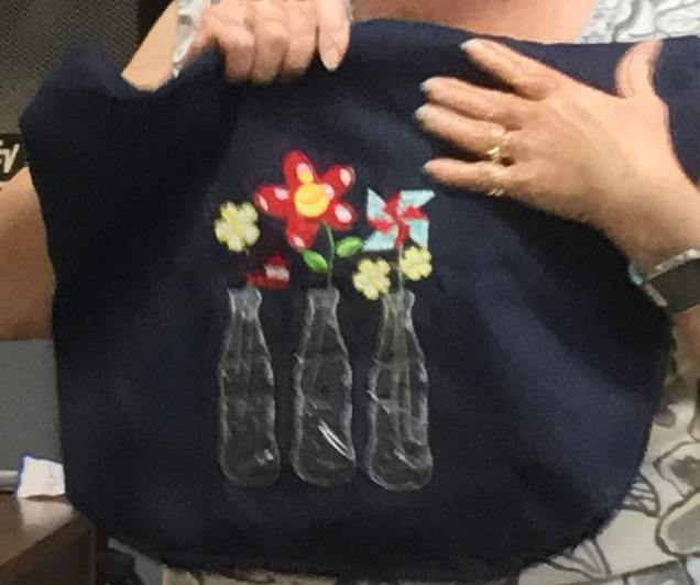 Ann A's Embroidered bag