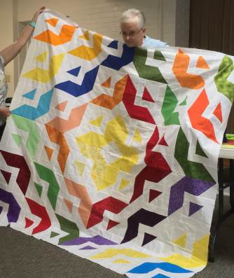 Ann L's All Roads Quilt Top