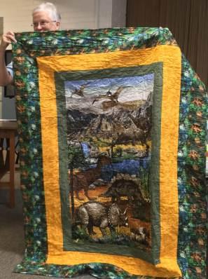 Ann L's panel quilt