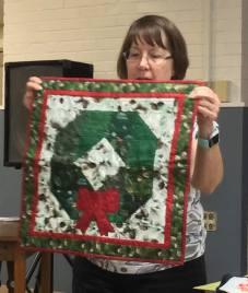 Ann A's Wreath wall hanging