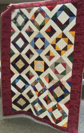 Debbie's Challenge Block Donation Quilt
