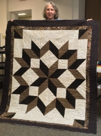 Made by Gail's friend and quilted by Gail