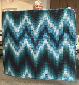 Gail's Van Gogh quilt
