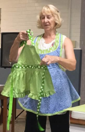 Ilona with kid's apron