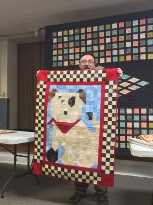 Doggie quilt