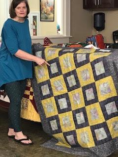 Terri-Lynne shares a quilt
