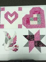 Breast cancer awareness blocks