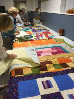 NALES donation quilts