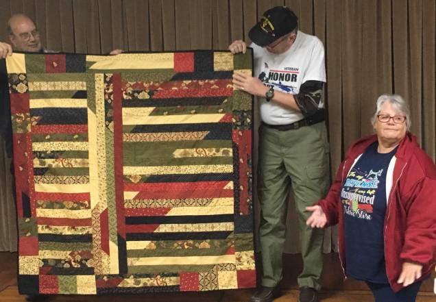 Moda fabric quilt