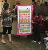 Ann's Princess and the Pea quilt