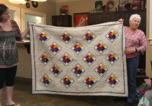 Kathy's card trick quilt